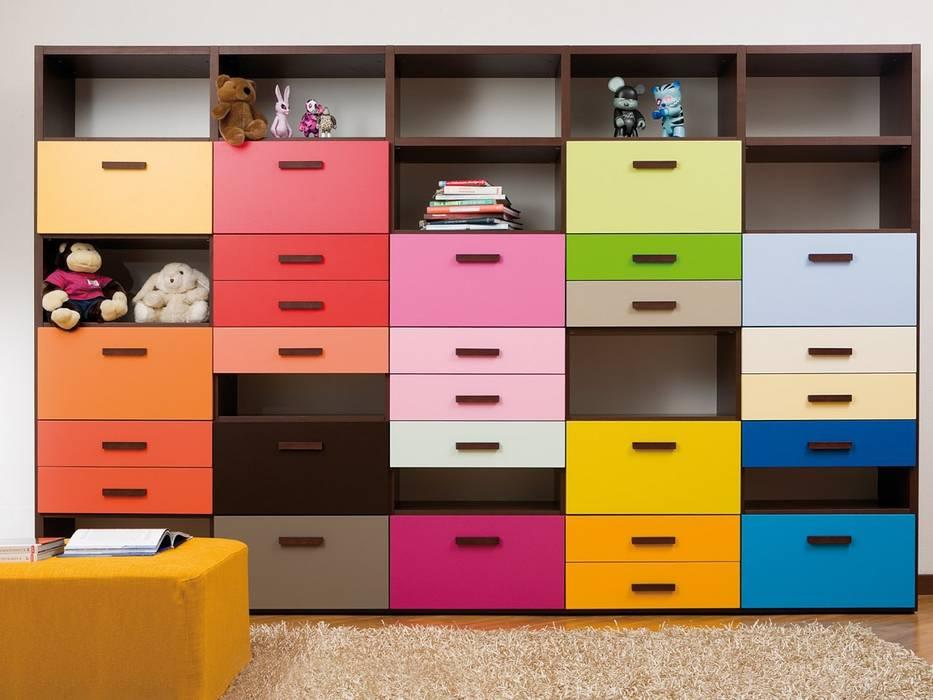 Regalsystem von dearkids: modern  von MOBIMIO - Räume für Kinder ,Modern
