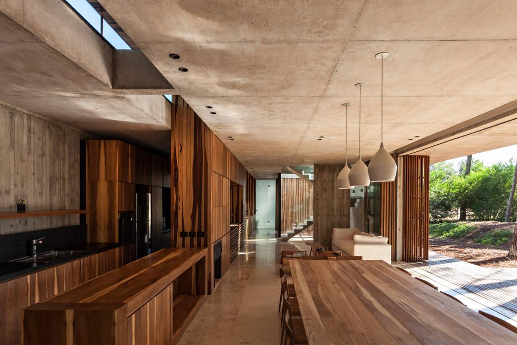 Nowoczesny salon od ATV Arquitectos Nowoczesny