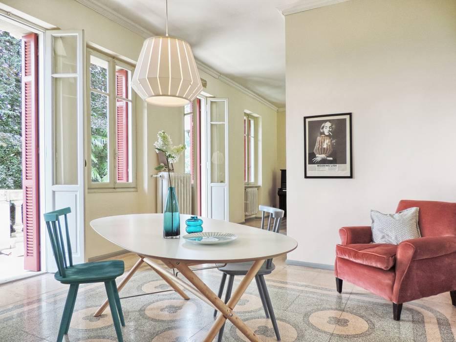 Phòng ăn phong cách chiết trung bởi Boite Maison Chiết trung