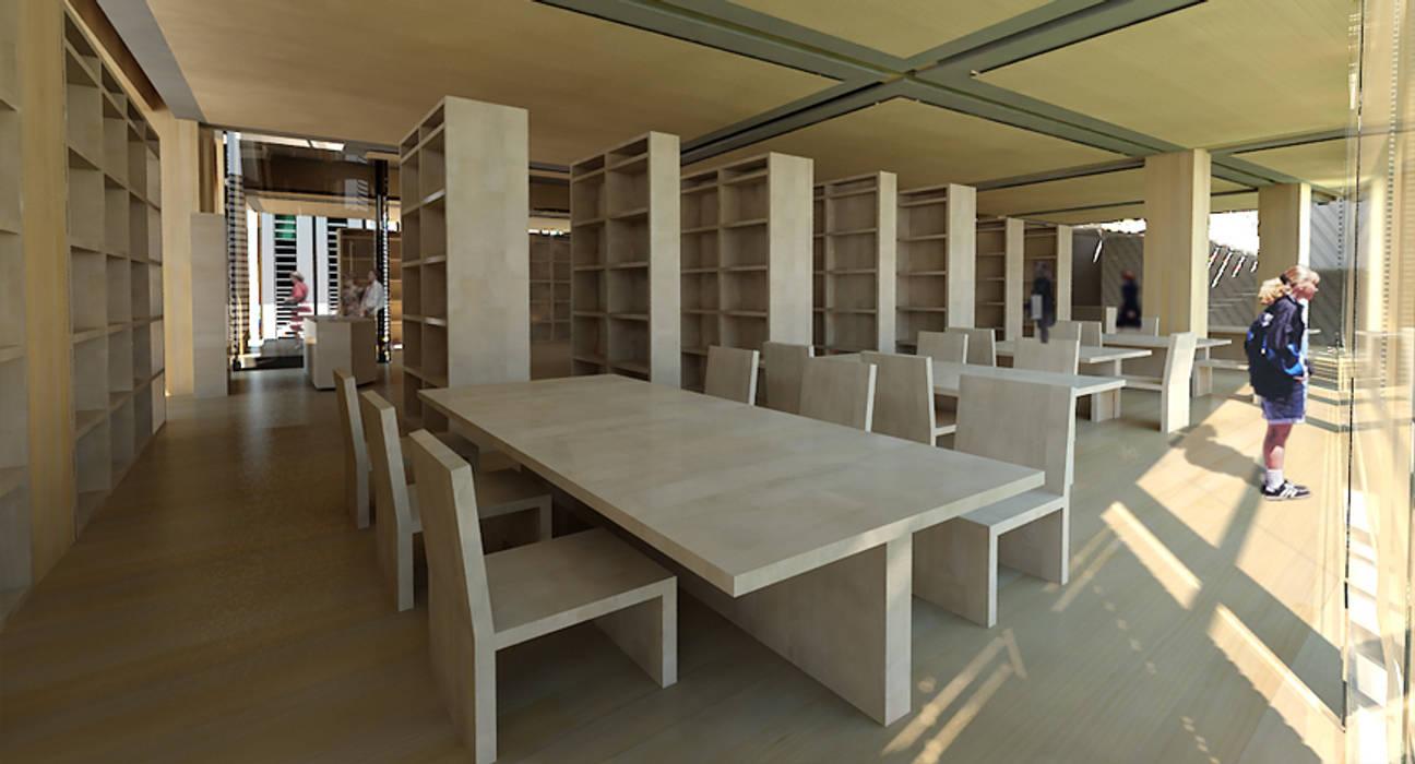 Nuova Biblioteca Civica in Piazza Duomo - Bressanone/Brixen (BZ) IT 2010 Centro congressi moderni di Farre+Stevenson Architettura Moderno
