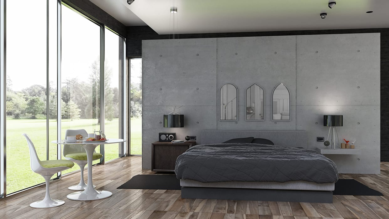 VillaS Case in stile minimalista di Studio Cappellanti Minimalista