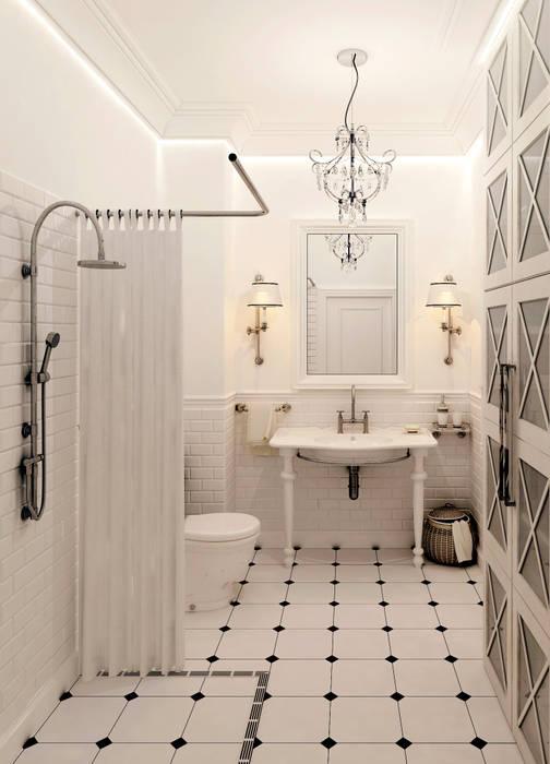 Salle de bain scandinave par Котова Ольга Scandinave
