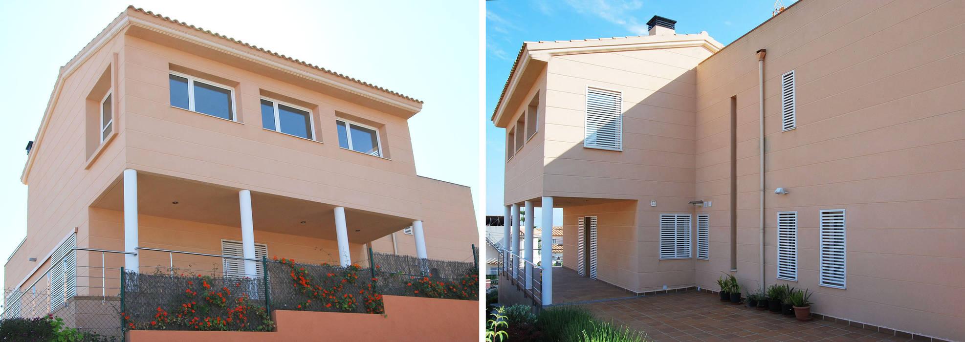 jjdelgado arquitectura Case in stile mediterraneo