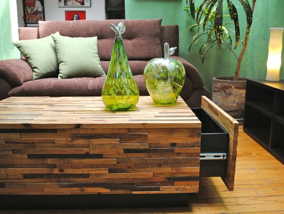Living room by Segusino Muebles Condesa