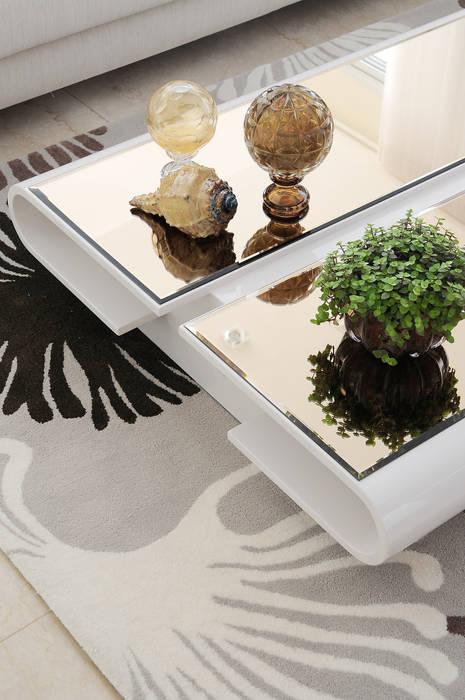 Projeto Identidade Brasileira - Living: Salas de estar  por Adriana Scartaris design e interiores