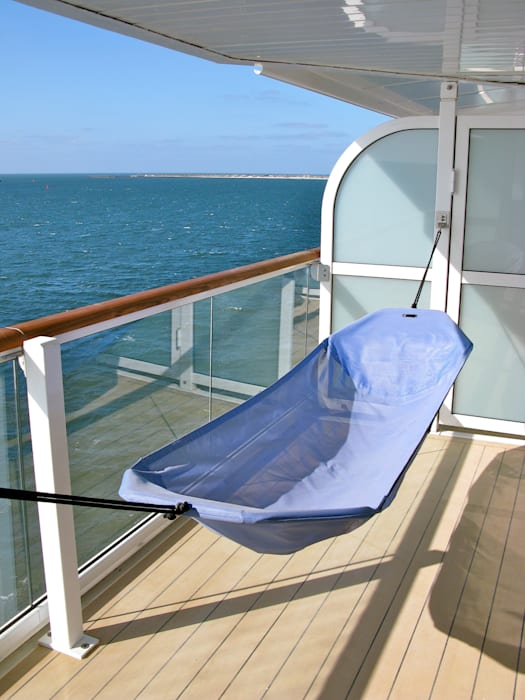 Tui Cruises Mein Schiff 1 2 Mit Crazy Chair Hangematte Balkon