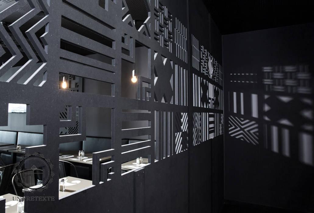Projet restaurant Frit'House: Restaurants de style  par Soraya Deffar / Un Pretexte