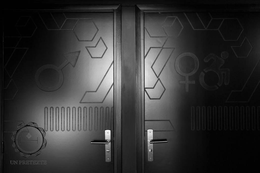 Portes  Frit'House: Restaurants de style  par Soraya Deffar / Un Pretexte