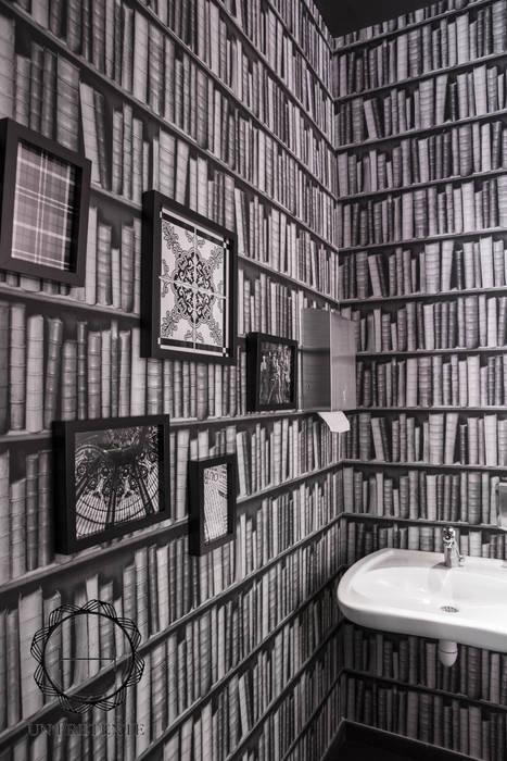 Toilettes Restaurant Frit'House Gastronomie moderne par Soraya Deffar / Un Pretexte Moderne