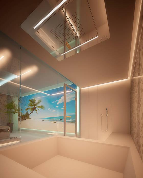 Projekty,  Łazienka zaprojektowane przez Design by Torsten Müller,