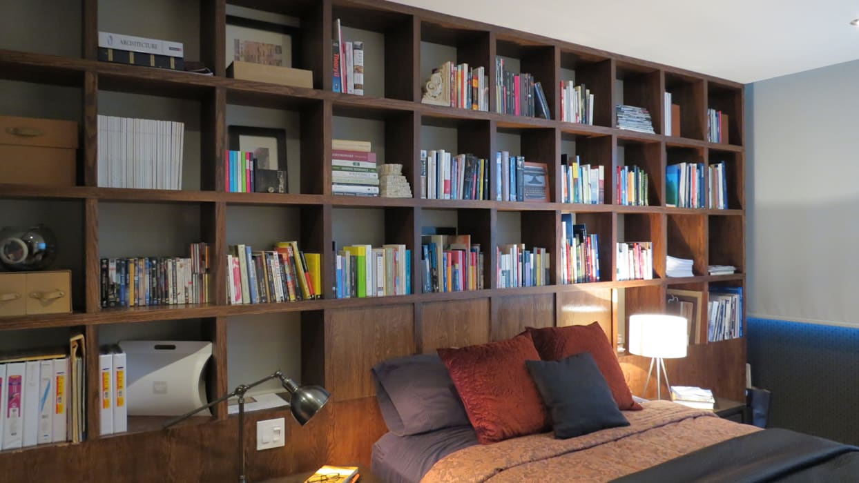 Bedroom by NIVEL TRES ARQUITECTURA, Eclectic
