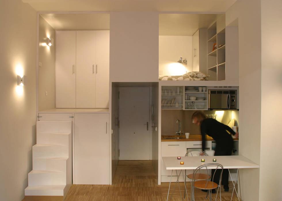 Кухни в . Автор – Beriot, Bernardini arquitectos, Минимализм