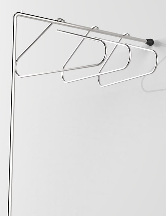 LESS IS MORE, coat hangers holders Insilvis Divergent Thinking Corridor, hallway & stairsClothes hooks & stands