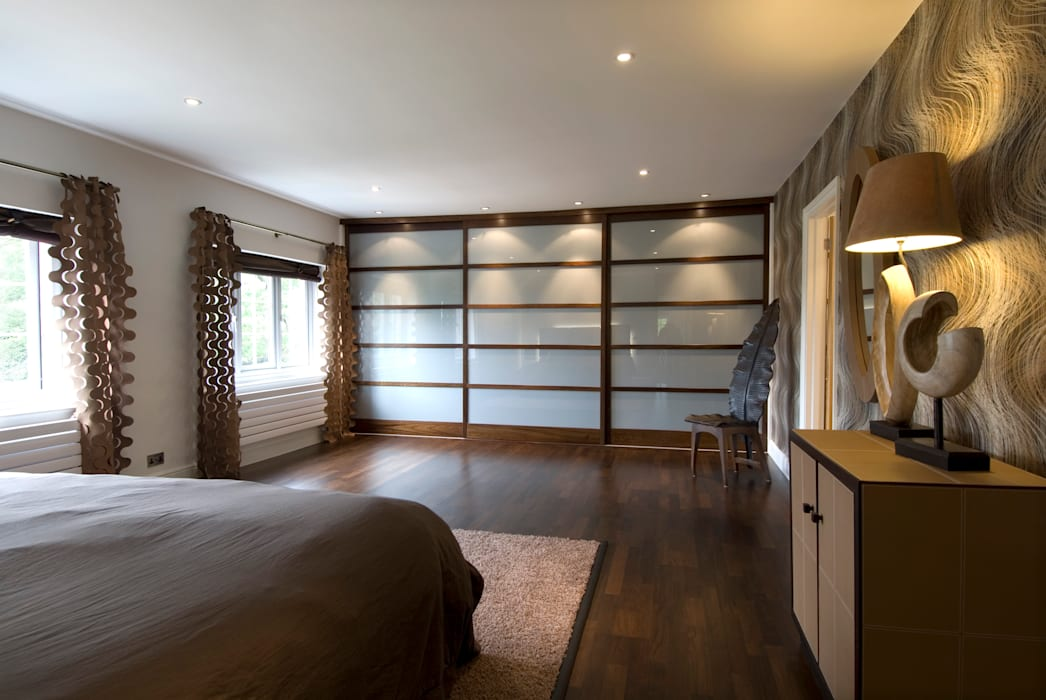 Private Residence, Master Bedroom Bedroom by Koubou Interiors