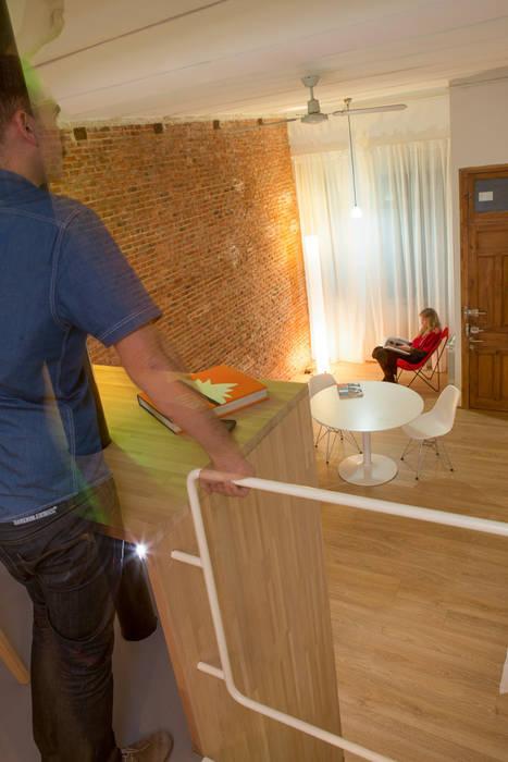 Salas / recibidores de estilo  por Beriot, Bernardini arquitectos,