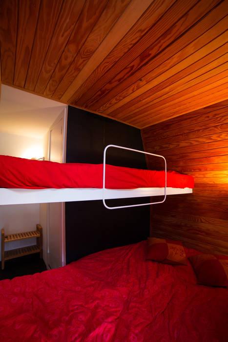 Refugio PUERTO DE NAVACERRADA. Madrid Casas de estilo minimalista de Beriot, Bernardini arquitectos Minimalista