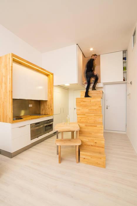 Loft ZURITA. Madrid: Cocinas de estilo minimalista de Beriot, Bernardini arquitectos