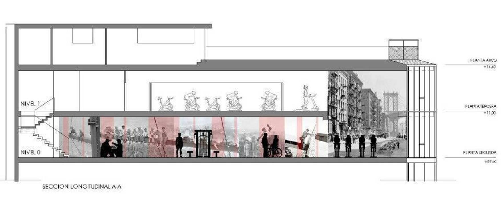 GYMAGE Carrillo arquitectos | Forma y Espacio