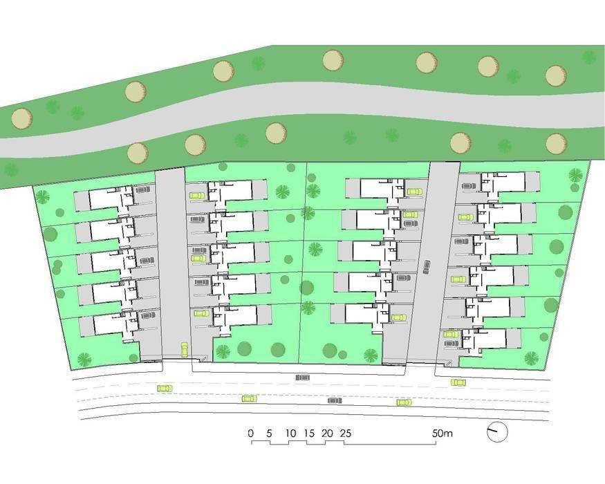 iHome: Casas de estilo  de Carrillo arquitectos | Forma y Espacio