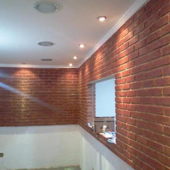 Durante a finalização da obra por NR arquitetura interiores Eclético