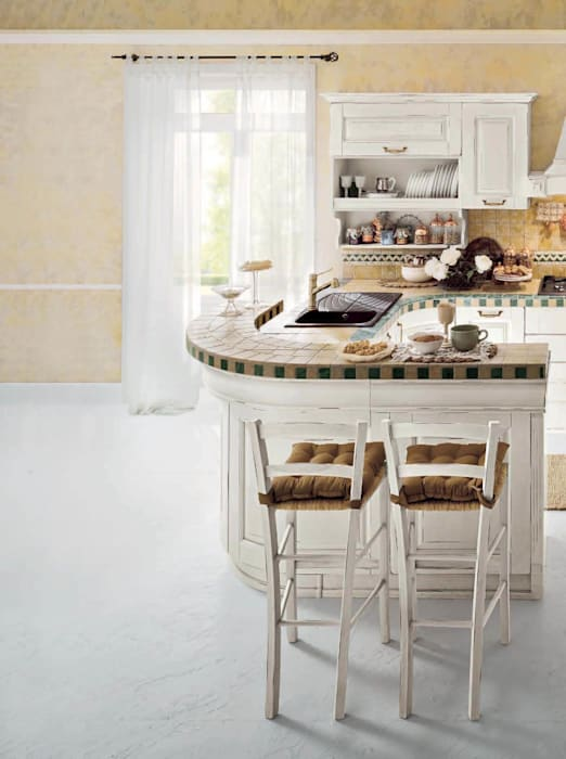 Cuisine rustique par ROMANO MOBILI dal 1960 Rustique