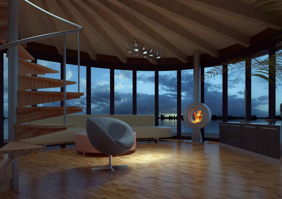 Du thuyền: thiết kế nội thất · bố trí · ảnh bởi Nautilus Hausboote GmbH