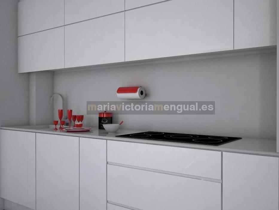 Lineal de cocina: Cocinas de estilo  de MUMARQ ARQUITECTURA E INTERIORISMO