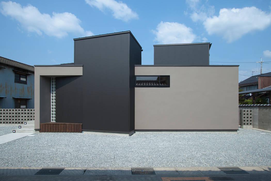 Casas de estilo  por 株式会社 オオタデザインオフィス, Ecléctico