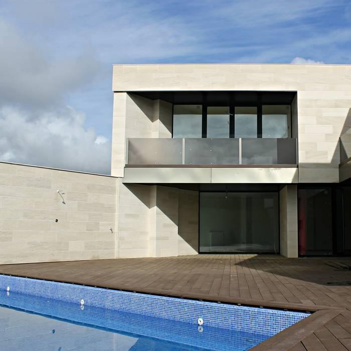 Vivienda Arcos de la Polvorosa Zamora Casas de estilo minimalista de UA30 Arquitectos S.L.P. Minimalista