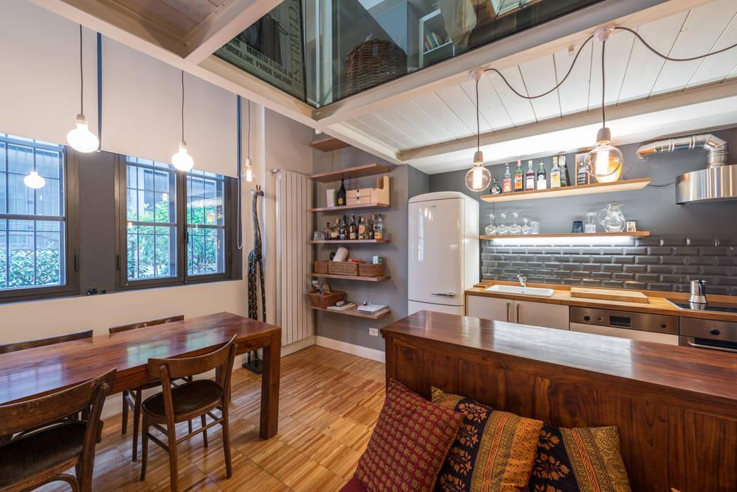 cucina Case di ghostarchitects