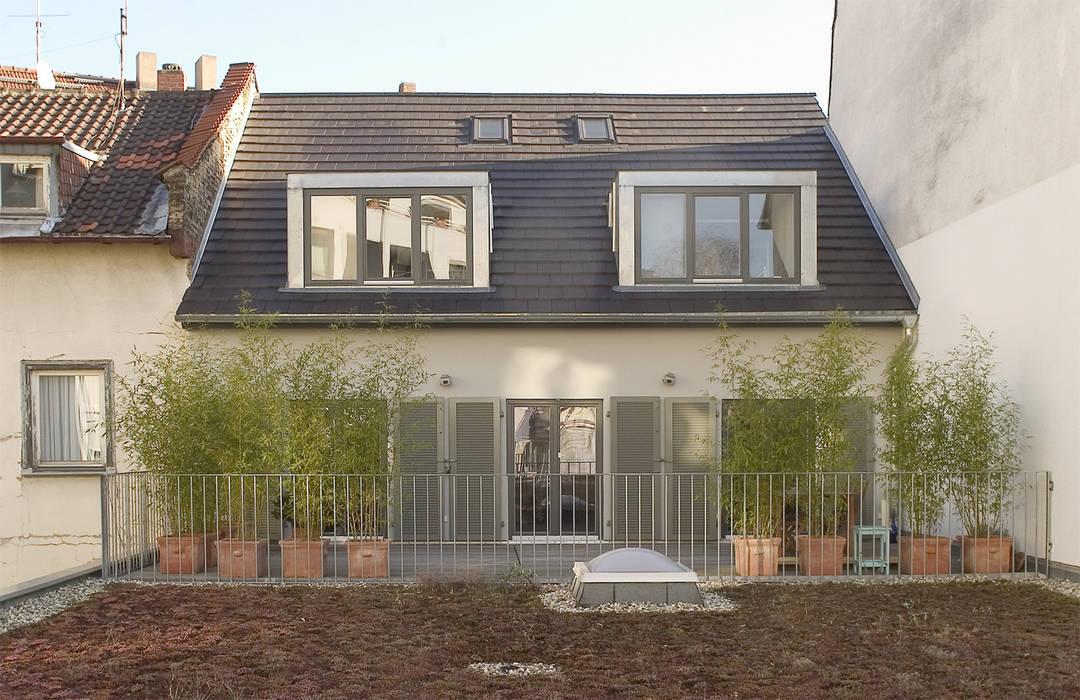 Leipziger Straße 19 THOMAS GRÜNINGER ARCHITEKTEN BDA Balkon, Veranda & Terrasse