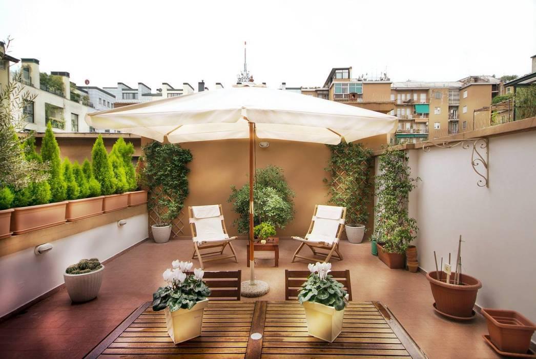 Terrazzo Case in stile minimalista di Graphite Minimalista