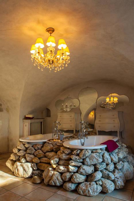 Salle de bain: Hôtels de style  par Franck Fouquet