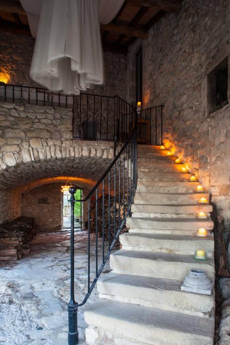 Escalier Hôtels ruraux par Franck Fouquet Rural