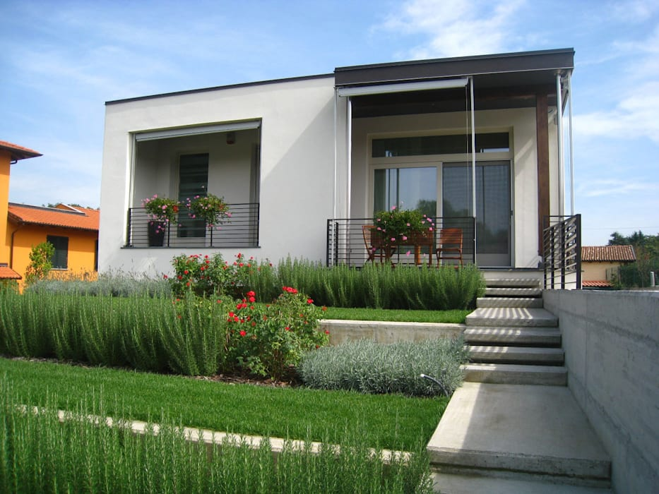 e n n e g i h o u s e Maisons modernes par Nico Papalia Architect Moderne