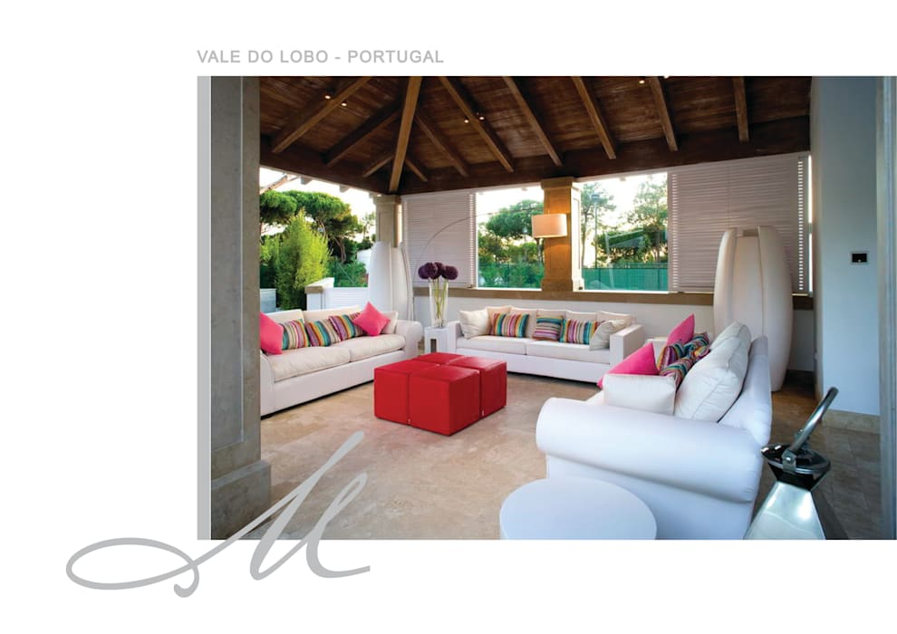 House in Vale Do Lobo Maria Raposo Interior Design Espacios
