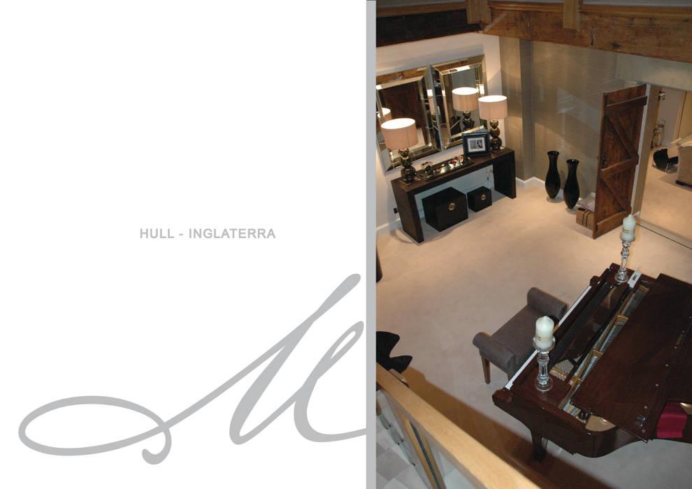 House in Hull Espaços por Maria Raposo Interior Design