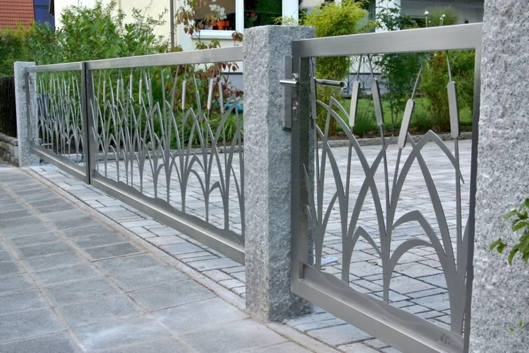 Vườn by Edelstahl Atelier Crouse - individuelle Gartentore