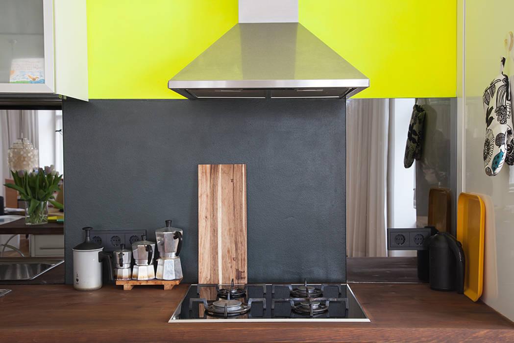 Cocinas de estilo ecléctico de Berlin Interior Design Ecléctico