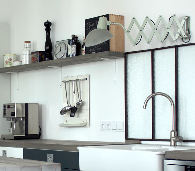 Berlin Interior Design Industrial style kitchen