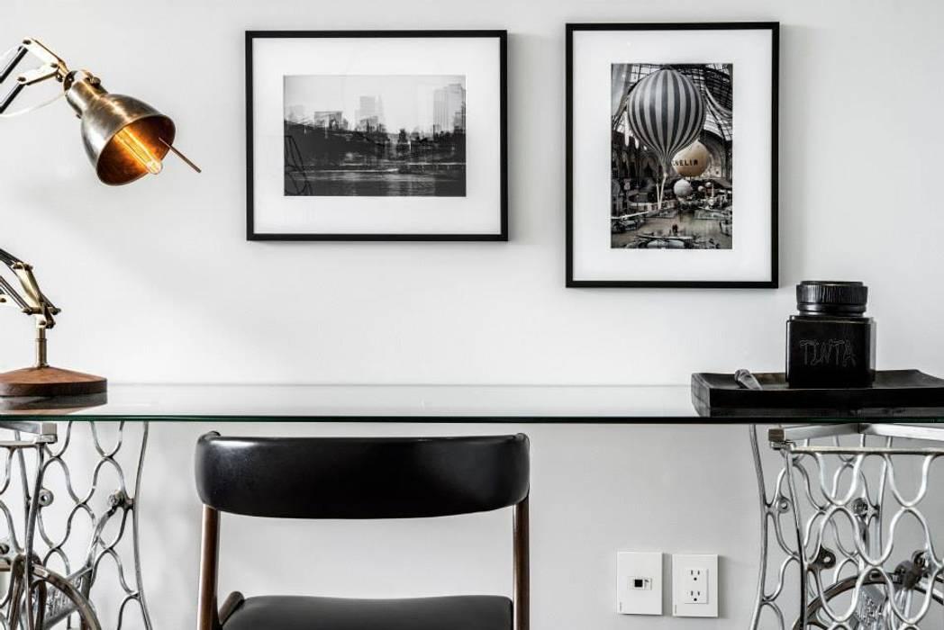 Veramonte I: Estudios y oficinas de estilo  por Sobrado + Ugalde Arquitectos,