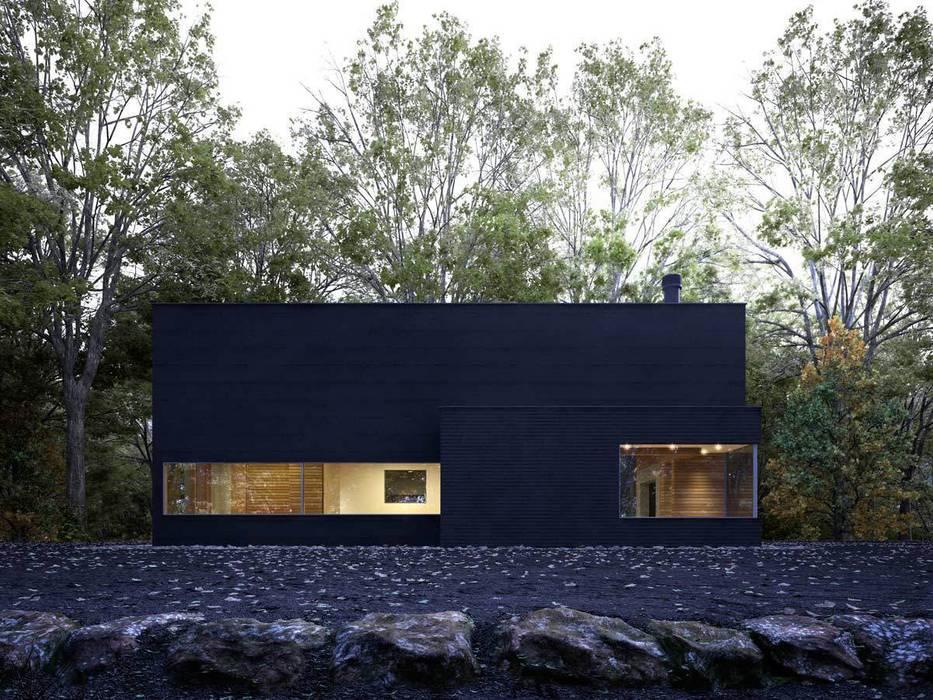 modern Study/office by Berga&Gonzalez - arquitectura y render