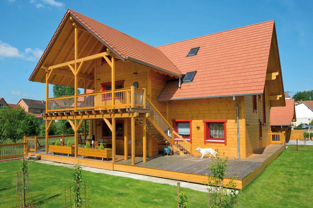 Casas de estilo rural de BayernBlock - HultaHaus Rural