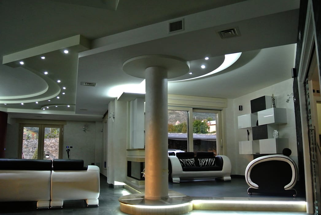 Modern Living Room by GIOIA Biagio ARCHITETTO Modern