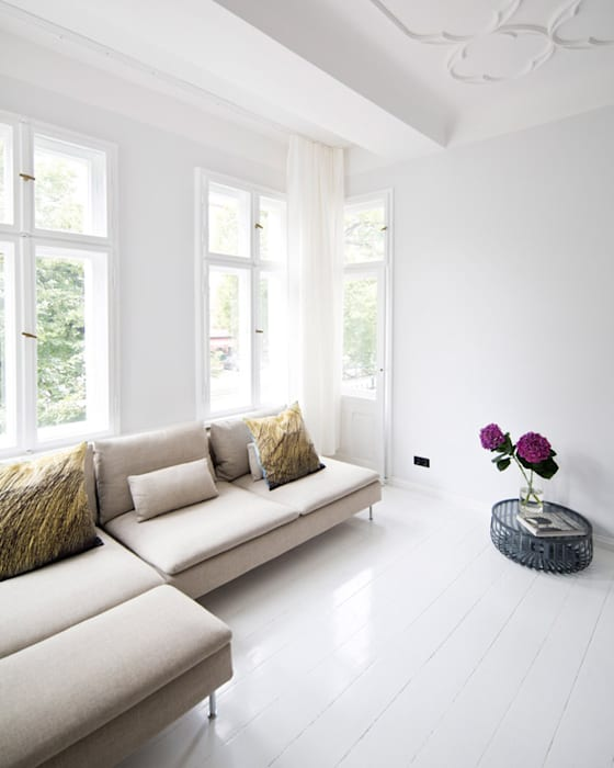 lifelife GmbH Salones de estilo escandinavo