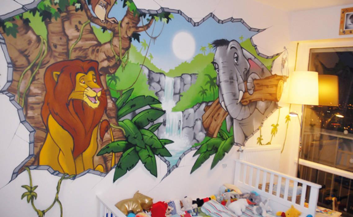 Deco Jungle Chambre Enfant décoration chambre d'enfant thème jungle par popek