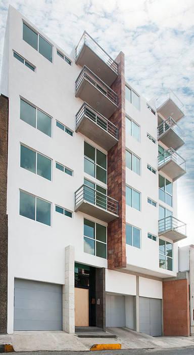 Quinta Ofelia 4: Casas de estilo moderno por RECON Arquitectura