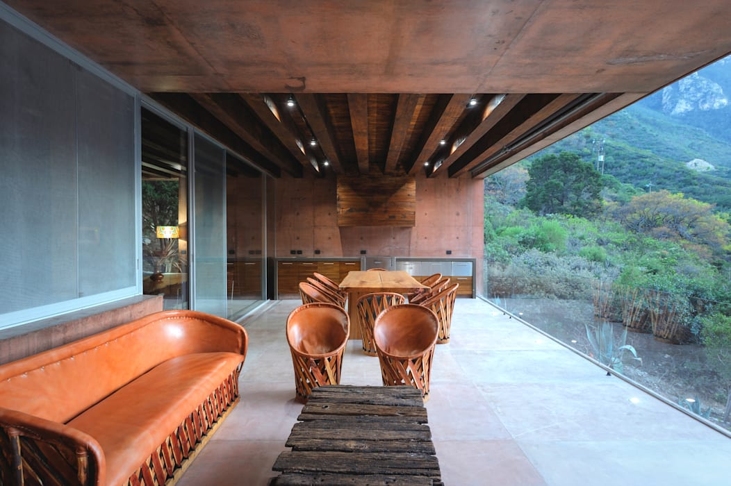 P+0 Arquitectura:  tarz Teras, Modern