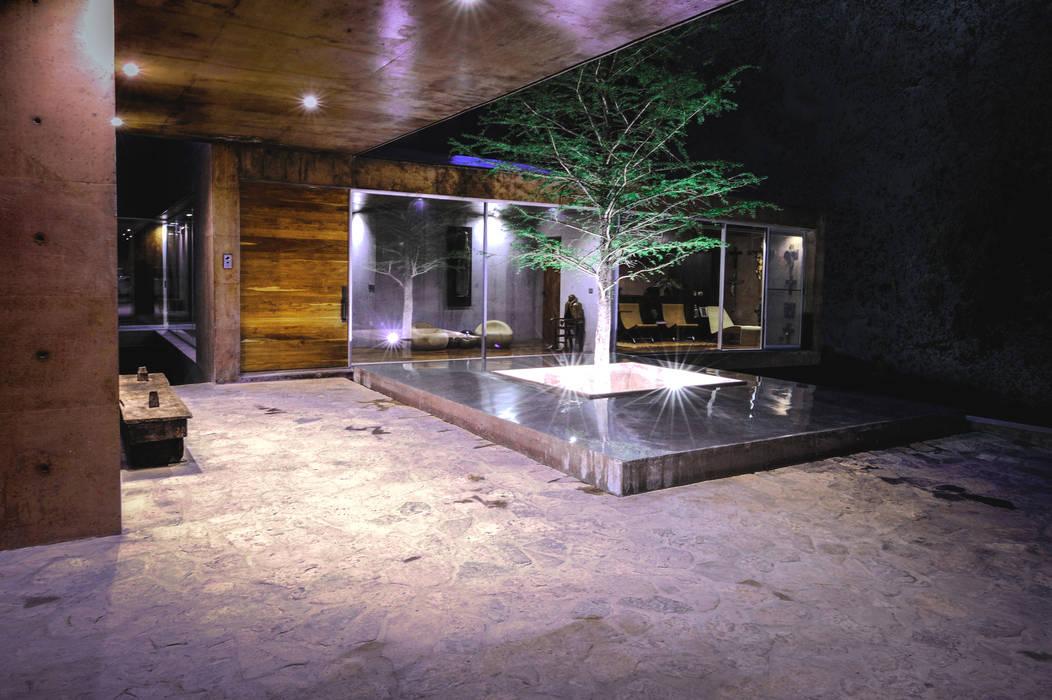 Casa Narigua Jardines modernos de P+0 Arquitectura Moderno
