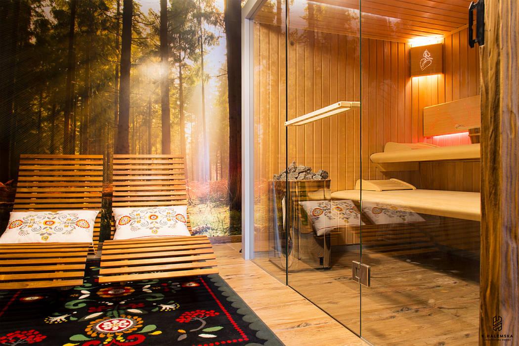 Spa de estilo  por k.halemska, Rural